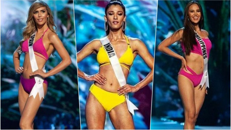 Miss Universe 2018 Swimsuit Round: Contestants Flaunting Their Killer Beach Ready Bodies in Bangkok, Thailand (See Pics)
