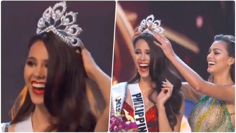 Miss Universe 2018 Name >> Catriona Gray Wins Miss Universe 2018 Crown: See Pics of Miss Philippines Who Won at the 67th ...