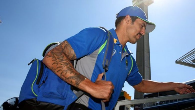 Mitchell Johnson Makes his Twitter Account Private after Being Trolled Constantly
