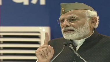 PM Narendra Modi Asks Crowd at Port Blair Rally to Switch On Mobiles' Flashlights as Tribute to Netaji Subhas Chandra Bose; Watch Video