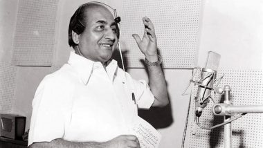 Mohammed Rafi 94th Birth Anniversary: Remembering Legendary Singer's Best Bollywood Songs That We Love to Hum