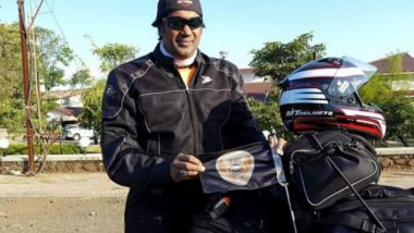 Motorcyclist Debashish Ghosh to Spread 'Save Lion' Message in South Africa with Nine-Day Tour