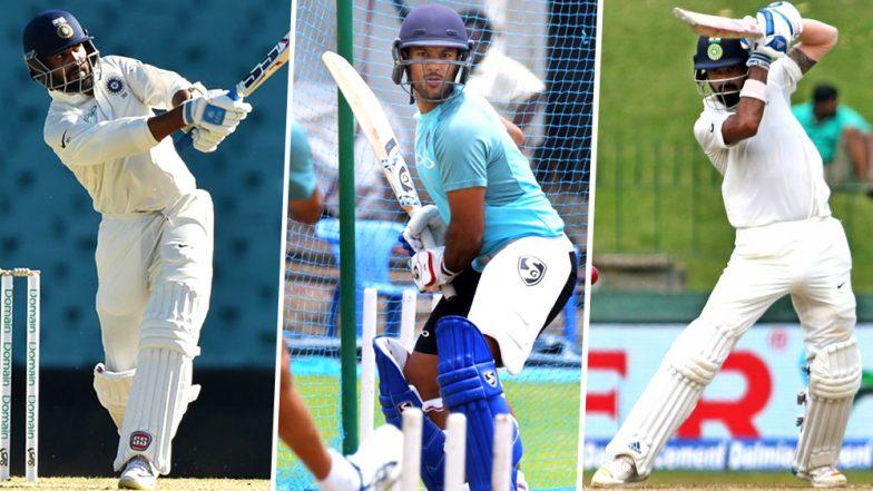 Kl Rahul And Murli Vijay Images: Should Virat Kohli Play Mayank Agarwal In Third Test
