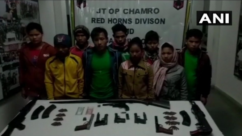 Assam: 9 Armed Terrorists of NDFB(S) Arrested While Infiltrating Into India From Myanmar