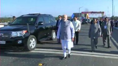 Prime Minister Narendra Modi Inaugurates India's Longest Rail-Road Bridge, Bogibeel Bridge, in Dibrugarh