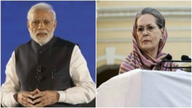Sonia Gandhi Asks PM Narendra Modi Not To Blame Previous Governments for Rising Fuel Prices but Find Solution To Control Price Hike