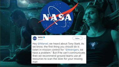 Tony Stark Is Lost in Space: NASA to Scan Skies to Rescue Iron Man in Avengers: Endgame?