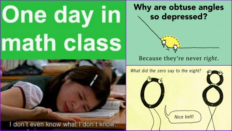 National Mathematics Day 2018: Maths Jokes and Memes That Will Make Every Algebro Laugh Out Loud