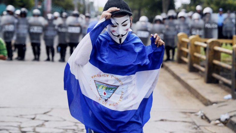 Chaos in Nicaragua: Journalists Protesting Office Raids Beaten up by Police