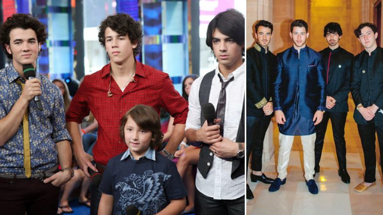We Need a Moment to Talk about Nick, Kevin and Joe Jonas' Glo-Up Group Picture
