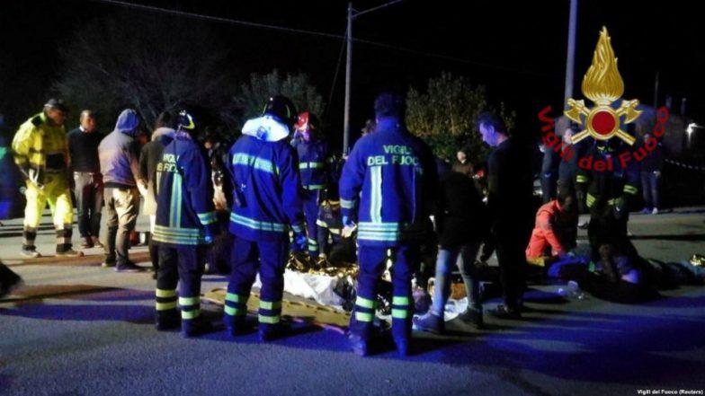 Six Dead and Dozens Injured in Stampede at Italian Blue Lantern Nightclub