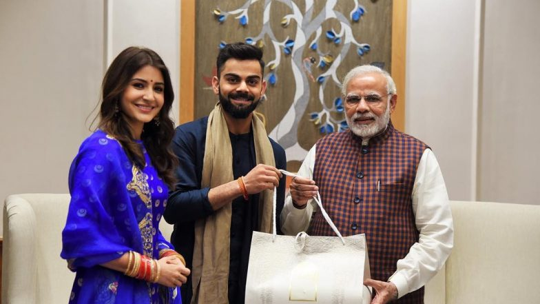 Remember When Virat Kohli and Anushka Sharma Met PM Narendra Modi? It is Now The Most Liked Photo of 2018 Posted by a World Leader on Instagram