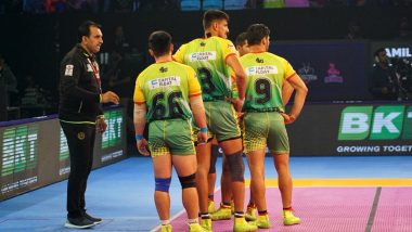 PKL 2018-19 Today's Kabaddi Matches: Schedule, Start Time, Live Streaming, Scores and Team Details of December 26 Encounter