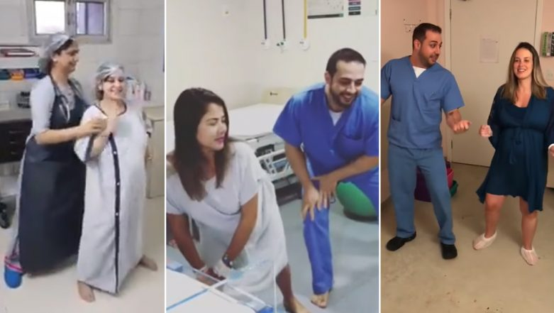 Viral Videos of Pregnant Woman Dancing With Doctor Ahead of Her C-Section Delivery Inside OT and Other Such Episodes Will Make Your Day