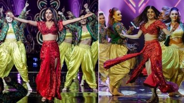 Priyanka Chopra Looks Red HOT as She Performs on 'Desi Girl' and Other Songs at Aditya Birla Awards 2018 (Watch Videos)