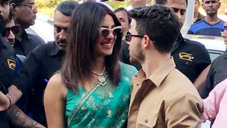 Love Is In The Air! Nick Jonas Declares, 'I Love You' As Wifey Priyanka Chopra Sports Mangalsutra: Watch Video!