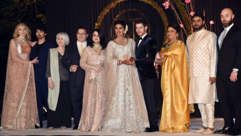 Priyanka Chopra and Nick Jonas' Wedding Reception PICS OUT and They Look BREATHTAKING!