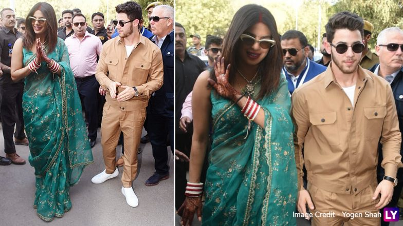 Priyanka Chopra Looks Beautiful in First Pics as Newly-Married Woman With Husband Nick Jonas By Her Side