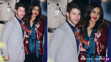 Priyanka Chopra and Nick Jonas Arrive in Mumbai, Couple to Host Their Second Wedding Reception for Friends (View Pics)