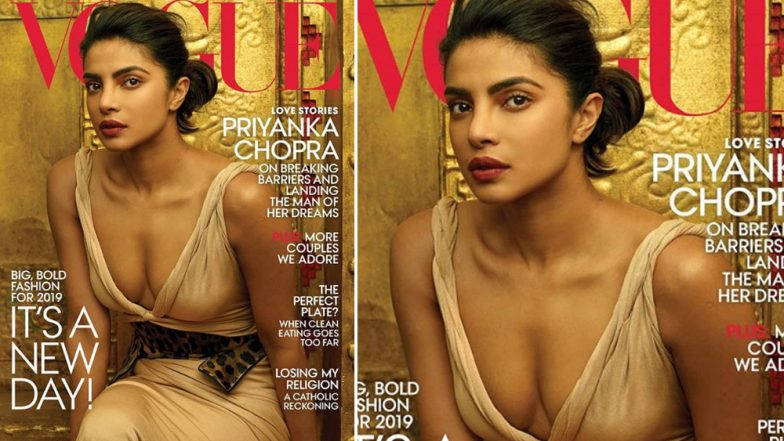 Priyanka Chopra Looks Simply HOT on the Cover of Vogue's January 2019 Issue