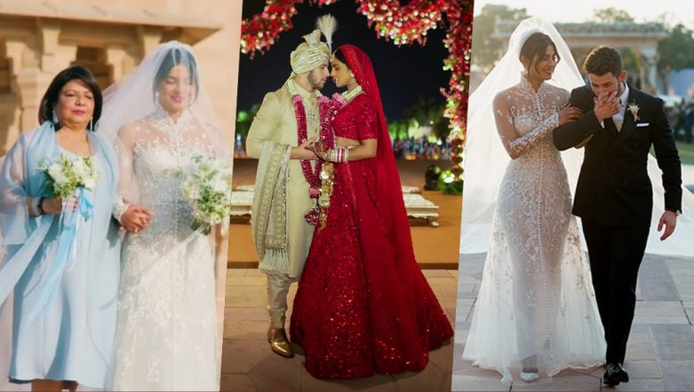 Priyanka Chopra Requested her Designers to Sew her Parents' Names With Other Phrases Like 'Family' and 'Hope' on Her Wedding Attires