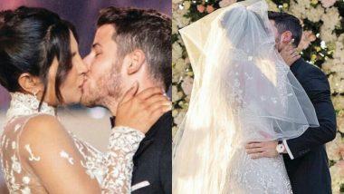 Priyanka Chopra And Nick Jonas Wedding Album: A Closer Look At The Couple's Romantic Kiss At The Altar!