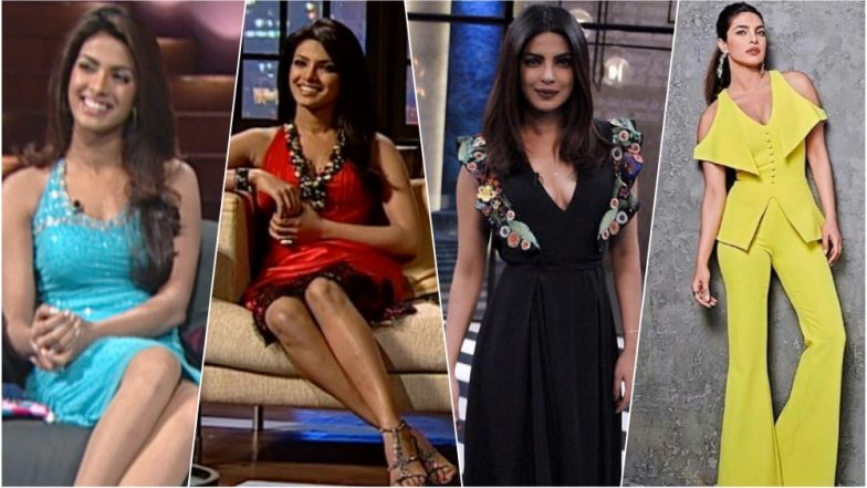 305b0bcc1ffc8 Priyanka Chopra's Style Evolution on Koffee With Karan: See in Pics Our  Desi Girl's Transformation