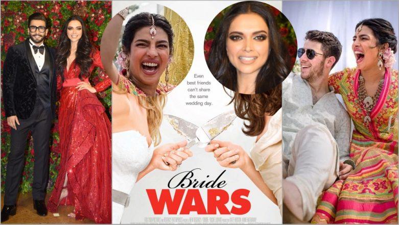 Bride Wars 2.0 With Priyanka Chopra vs Deepika Padukone on Twitter: #NickyankaKiShaadi, #DeepVeerKiShaadi Trends As Actresses' Wedding Pics Flood Internet!