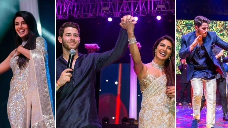 Priyanka Chopra-Nick Jonas Sangeet Ceremony: NickYanka Are Joined By Parineeti, Joe and Other Family Members for a Picture Perfect Wedding (View Pics and Video)