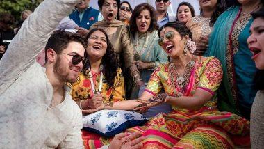 Priyanka Chopra-Nick Jonas' Mehendi Ceremony: Twitterati is Mighty Impressed With NickYanka's 'Happy Pictures' (Read Tweets)