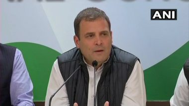 Assembly Elections 2018 Results: Selection of CMs for Rajasthan, Chhattisgarh and MP Will Be Done Smoothly, Says Rahul Gandhi