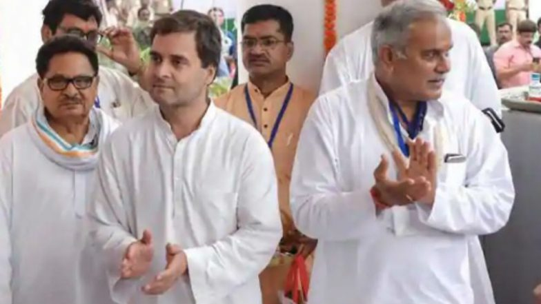 India Today-Axis Exit Poll Results of Chhattisgarh Assembly Elections 2018: Congress Predicted to Sweep State by Winning 55-65 Seats, BJP to End Up With 21-31 Seats