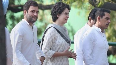 Priyanka Gandhi Officially Enters Active Politics, Appointed Congress General Secretary for UP East Ahead of Lok Sabha Elections 2019
