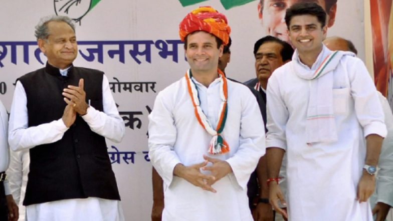 News24-Pace Media Exit Poll Results of Rajasthan Assembly Elections 2018: Congress to Win 110-120 Seats, BJP 70-80, Predicts Survey
