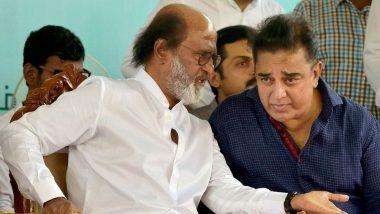 Celebs Who Entered Politics in 2018: Kamal Haasan, Rajinikanth Begin Political Careers; BJP Looks to Rope in Madhuri Dixit, Mohanlal For 2019 Lok Sabha Elections