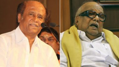 Rajinikanth Likely to Attend M Karunanidhi's Statue Unveiling Ceremony in Chennai on Sunday