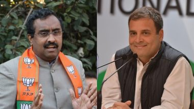 Rahul Gandhi Brought Victories Using His Electoral Mettle, Says BJP's Ram Madhav in Rare Praise For Congress Chief