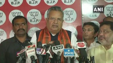 Chhattisgarh Assembly Elections 2018 Results: Raman Singh Resigns as Chief Minister After Congress Routs BJP With 2/3rd Mandate