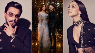 Priyanka Chopra, Ranveer Singh, Deepika Padukone Dancing To Pinga Is Hands Down, The Best Highlight Of PeeCee's Mumbai Reception! Watch Videos