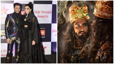 Star Screen Awards 2018: Ranveer Singh Wins Best Actor Award For Padmaavat, Wife Deepika Padukone Cannot Control Her Tears! (View Pic)