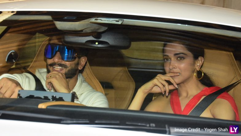 Deepika Padukone and Ranveer Singh Are in a Merry Mood as They Arrive at Zoya Akhtar's Christmas 2018 Bash (View Pics)