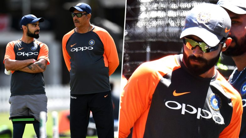 The Curious Case of 'Injured' Ravindra Jadeja: Here's How Ravi Shastri & Co. Stoked the Controversy Ahead of IND vs AUS 3rd Test Match