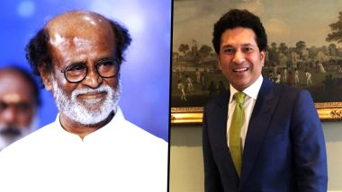 Rajinikanth Birthday: Thalaiva Calls Sachin Tendulkar His 'Dearest', in Reply to Master Blaster's Wishes