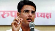 Sachin Pilot, Sacked as Rajasthan Deputy CM Amid Political Row in Rajasthan, Thanks Those Out in His Support