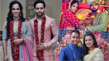 Saina Nehwal and P Kashyap Get Married: See Other Athlete Couples Who Fell in Love While Playing Same Sport