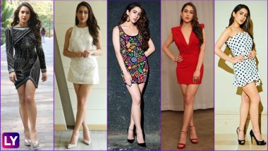 Let Sara Ali Khan Show You How to Rock Short Dresses Without Looking Overexposed: See Sexy Simmba Actress' Style File!