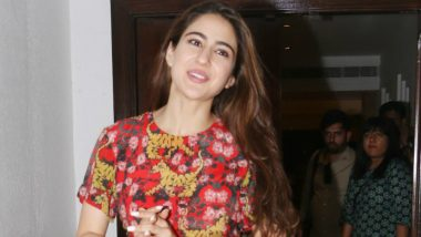 Sara Ali Khan Is Now the Indian Brand Ambassador For CERIZ – A High-Fashion French Brand