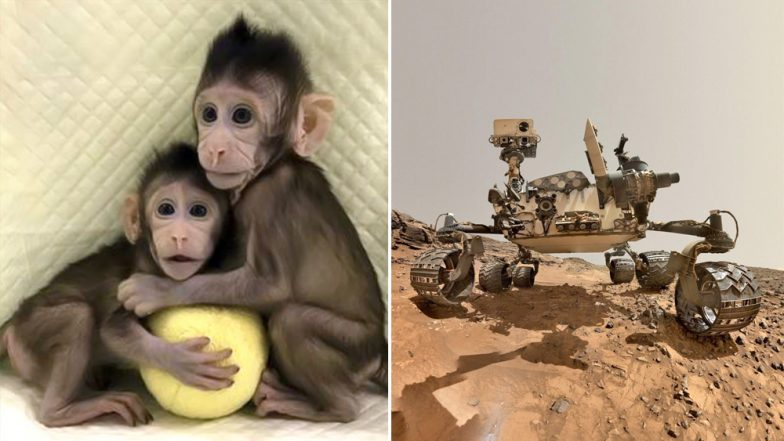 Biggest Science Inventions and Discoveries of 2018: From Cloning Monkeys to Curiosity Rover Giving Details About Mars, These Are Some of the Biggest Breakthroughs of This Year