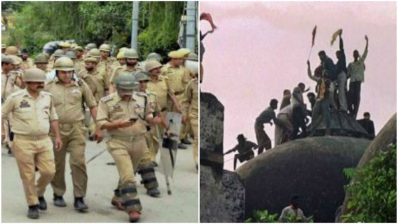 26th Anniversary of Babri Masjid Demolition Tomorrow, Security Tightened in Ayodhya