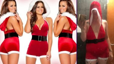 Mother Buys 'Sexy Santa Suit' For Christmas Via eBay But the Ill-Fitting Outfit Makes Her Look Cheap, View Funny Pic!